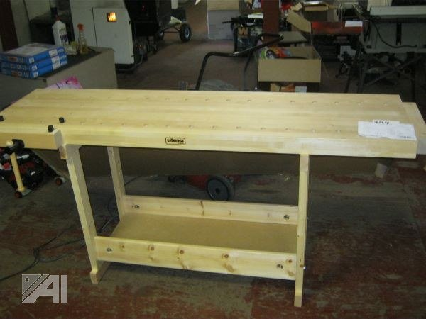 Sjobergs workbench auction