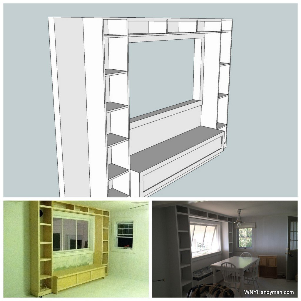Designing in Sketchup before a project begins