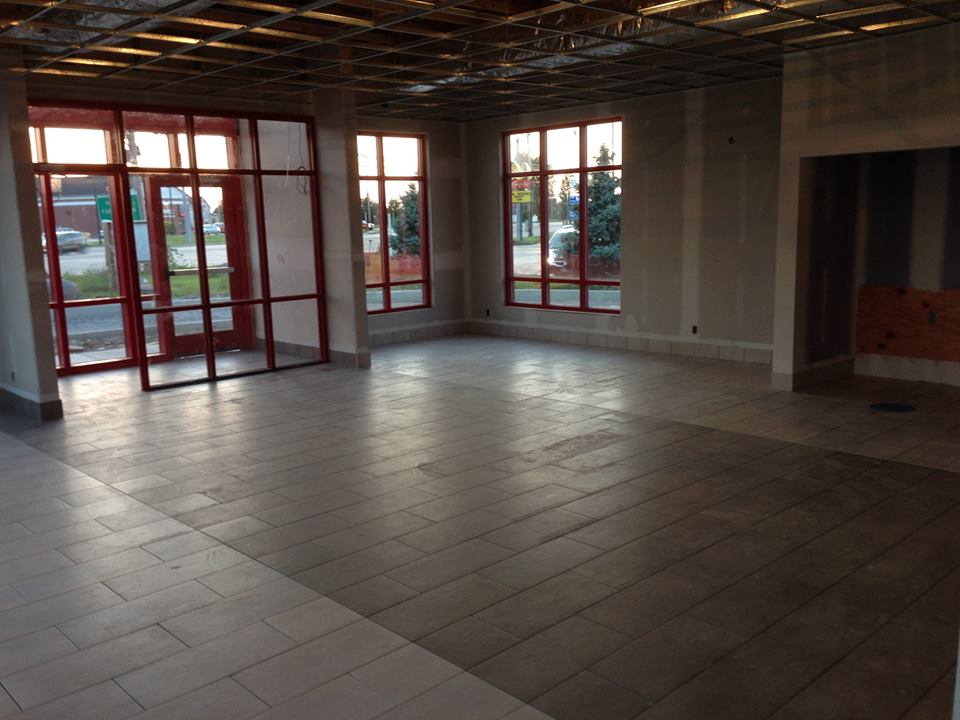 commercial commercial tiling in