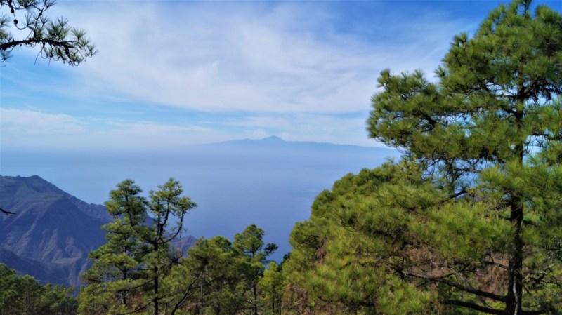 Vom Norden der Insel könnt Ihr Teneriffa sehen