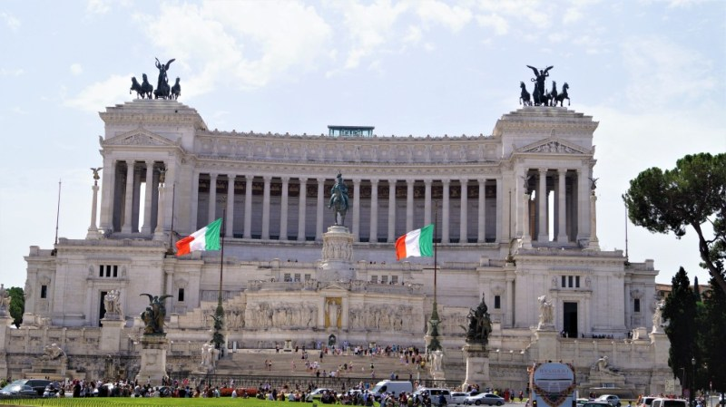Nationaldenkmal Vittorio Emanuelle II in Rom
