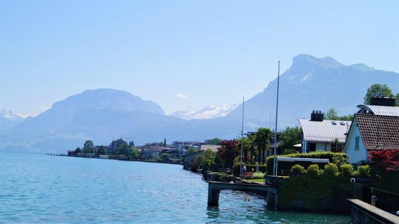 Schweiz - Am Ufer des Vierwaldstädter Sees
