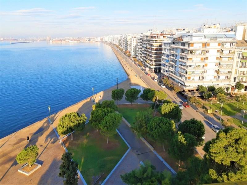 Ausblick vom weißen Turm in Thessaloniki