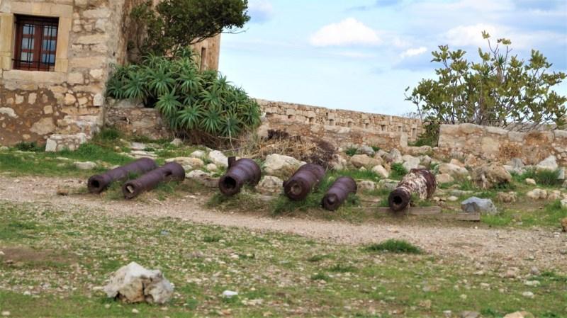 Kanonen in Rethymno