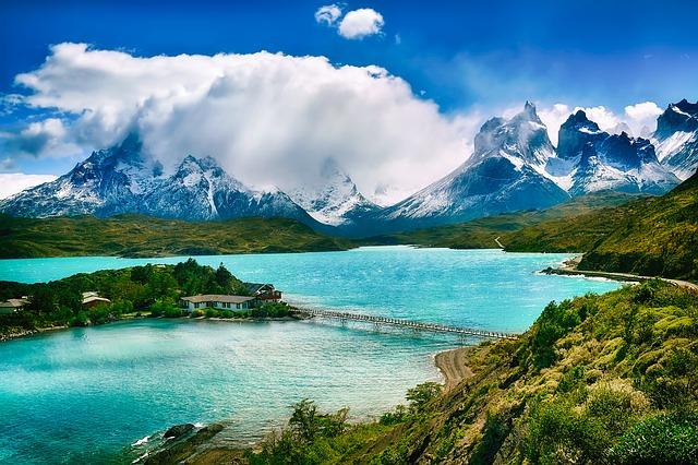 Patagonien ist eine kalte Region in Südamerika