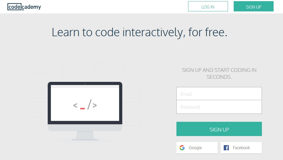 Learn Coding For Free Codeacademy