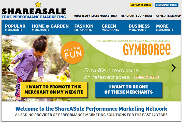 ShareASale Affiliate Market Place