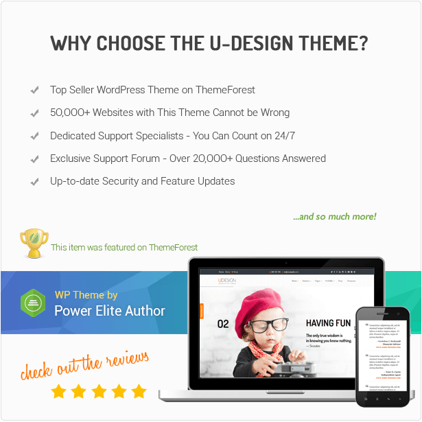 why chose the udesign theme