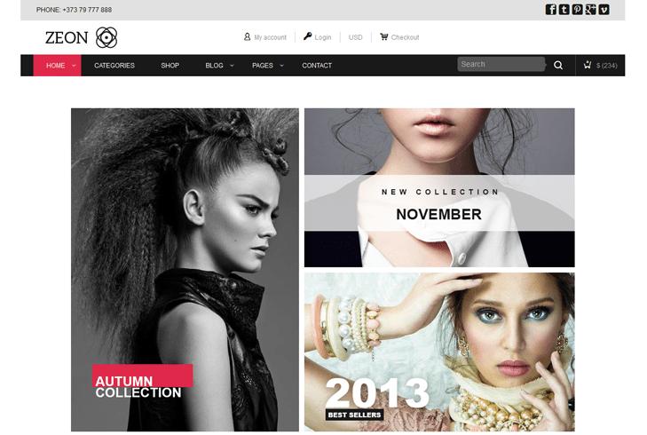 Zeon – eCommerce WordPress Theme