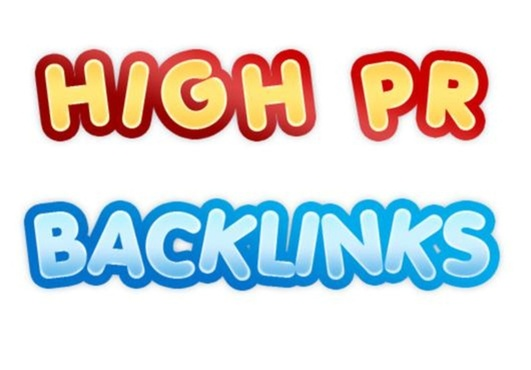 Google High PageRank Backlinks