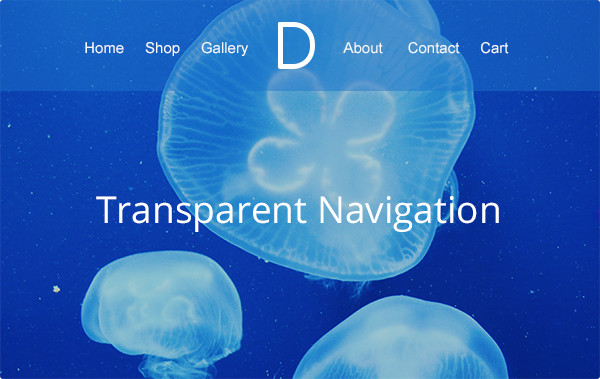 Divi WordPress theme Review Add Full or Semi-Transparency to Your Navigation