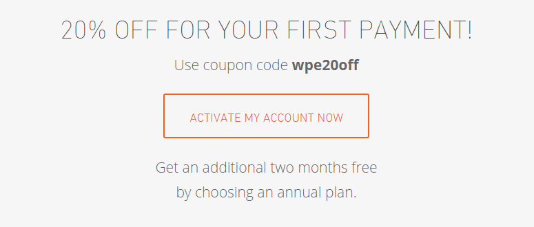 wp engine discount coupon