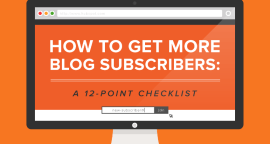 12 Ways to Get More Blog Subscribers [Infographic]