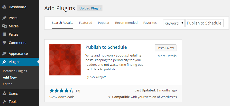 Schedule Your WordPress Posts To Be Published Automatically 1