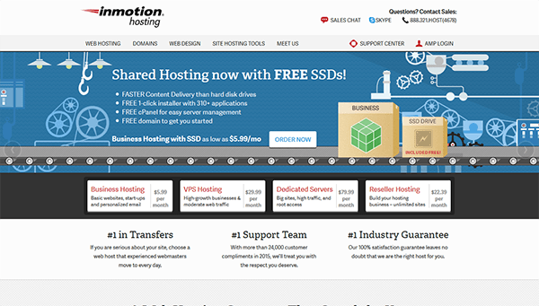 Inmotion Hosting web hosting Companies