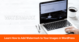 How to Add Watermark on Images in WordPress Automatically