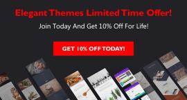 Elegant Themes Deal