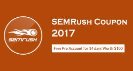 semrush coupon code free trial