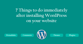 7 Things to Do with Every New WordPress Install