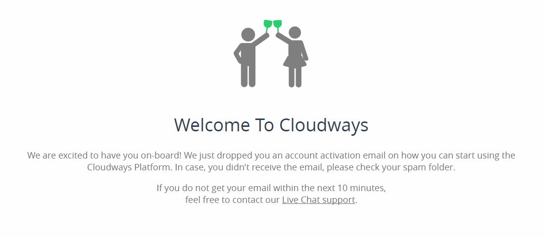 welcome to cloudways