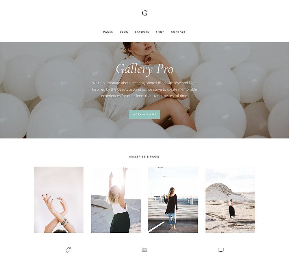 Gallery Pro Theme Top 10 Best Genesis Child Themes For WordPress Blogs