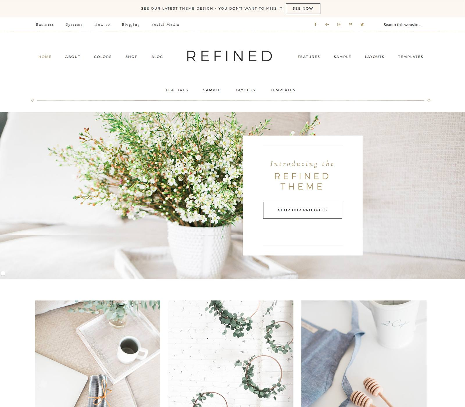 Refined Pro Theme Top 10 Best Genesis Child Themes For WordPress Blogs