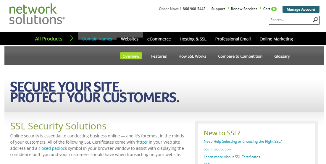 network solutions ssl