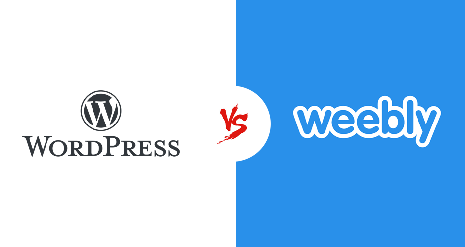WordPress vs Weebly – Differences and Features