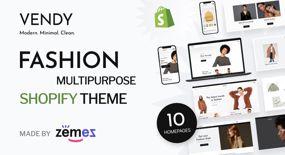 Vendy shopify theme