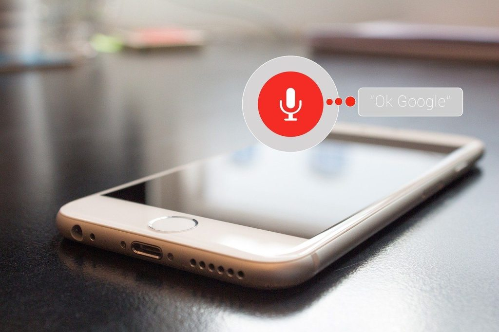 Voice searches take all the precedence