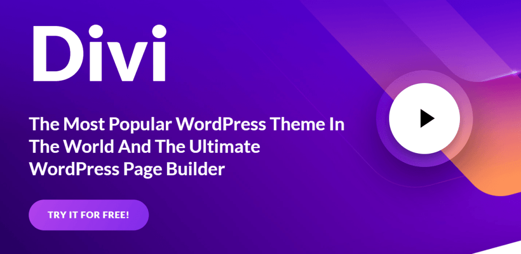 Divi Multi-Purpose WordPress Theme