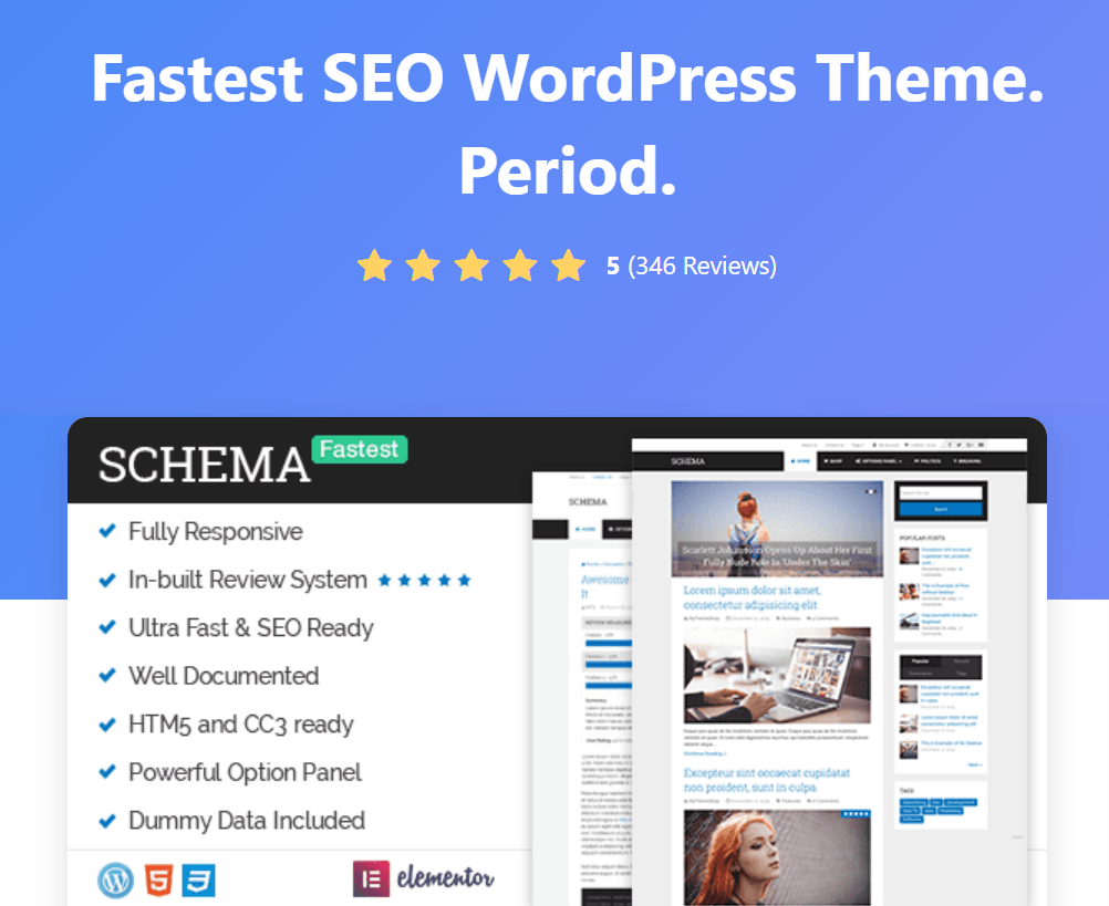 Schema by MyThemeShop - Fastest SEO WordPress Theme