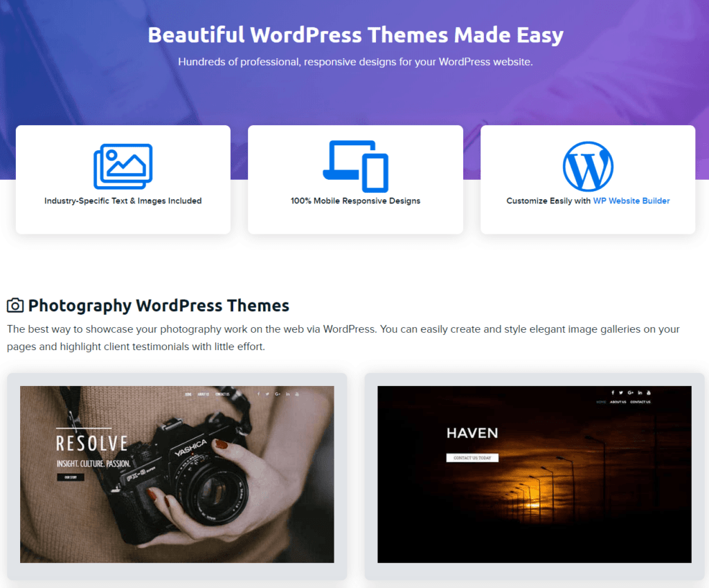 Dreamhost Beautiful WordPress Themes Made Easy