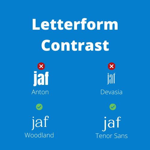 Letterform Contrast image
