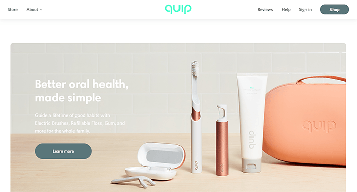 GetQuip website