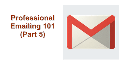 how to end an email professionally example