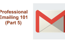 Replying to Professional Email
