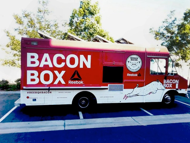 La bacon box par Reebok