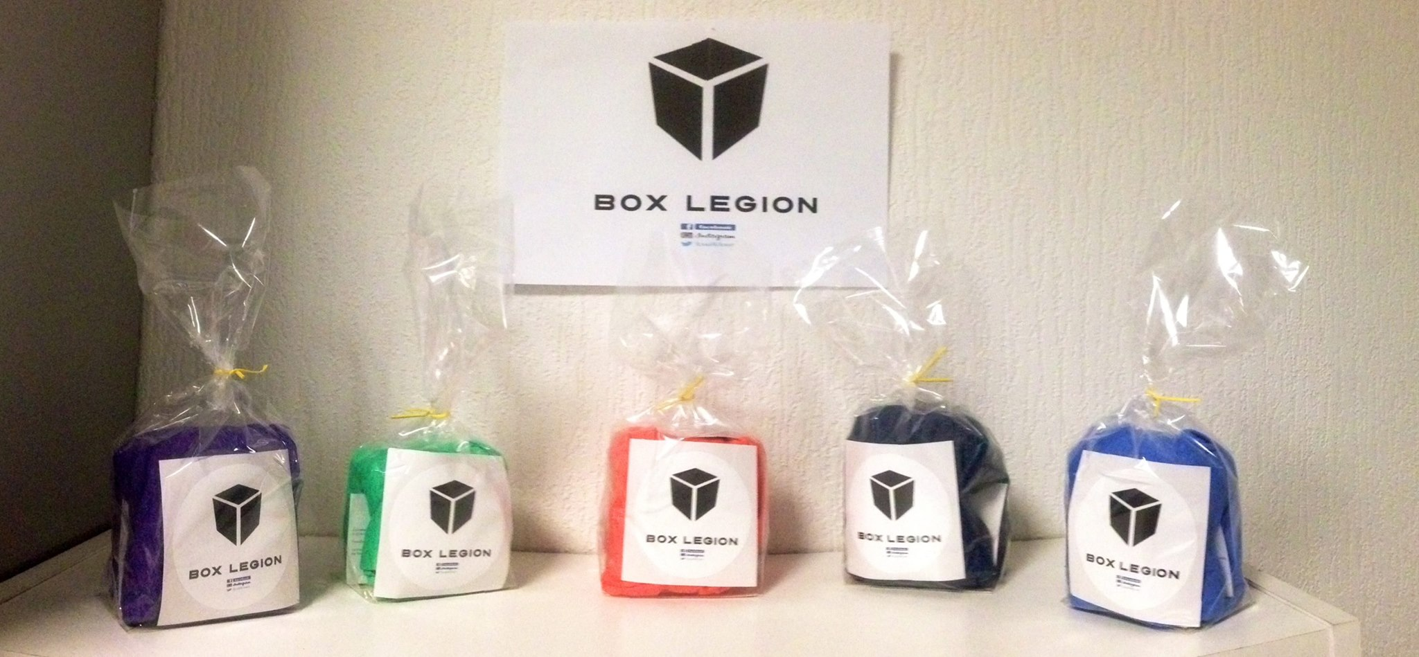 Box Legion presentation produits
