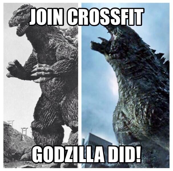 Godzilla crossfit
