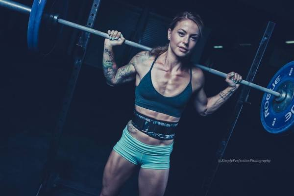 femme sexy crossfit