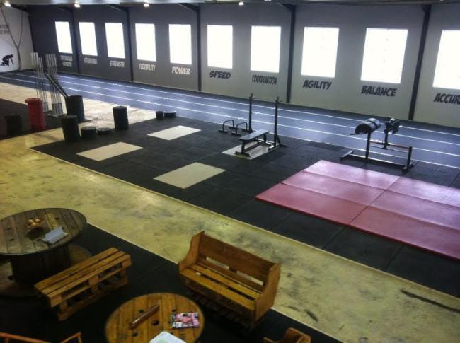 Vue interieure de CrossFit Valence