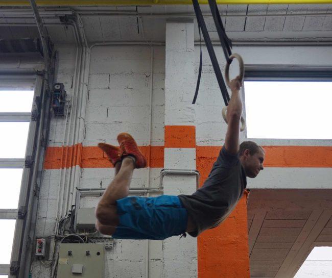 Nathan Pelletier de CrossFit ®* L'Engrenage