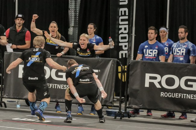 Reebok CrossFit®* Invitation-L'equipe Europe en action