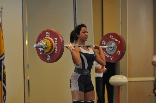 2011 Weightlifting Junior nationals 2011