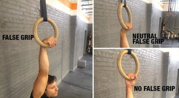 flase grip muscle up