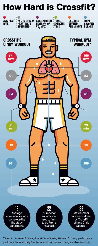 CrossFit ®* vs gym wodnews
