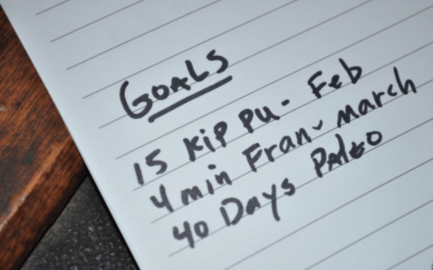 CrossFit 2018 goals