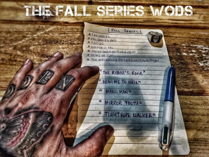 Gare Crossfit Fall Series