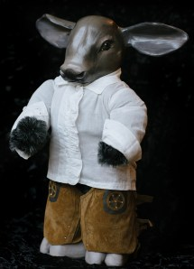 Baby Steer Doll
